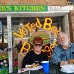 We vote Maggie's for the best burgers too.