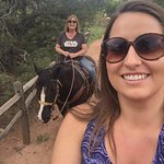 Fun ride on Bonnie and Martha (Martha isn't in this pic)