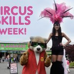 Circus Skills Week at Flambards