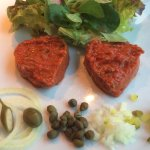 Vorspiese - Beefsteak Tatar