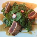 Vorspeise - Thunfisch auf Salat