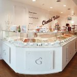 Counter of Macarons delight