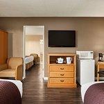 Standard 3 Queen Beds Room