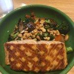 Wok Bowl with Salmon