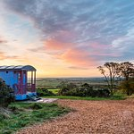 Bluegrass Shepherds Hut, Beacon hill farm