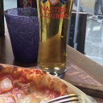 Pizza and a Cold Beer