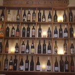 The wall of wine.