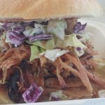 Pulled Pork with slaw!