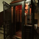 Old style elevator