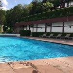 piscine avec hammam et jacuzzy