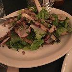 Grilled endives salad