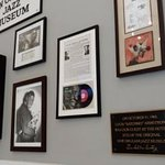 More jazz history on the walls in the lobby/breakfast area