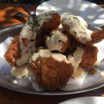 Buttermilk Fried Chicken with Herbed Buttermilk Dressing