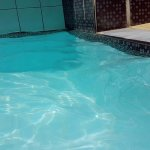 Pool water at 12 noon