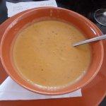 Creamy Roasted Veg Soup