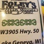 Foto de Foley's Irish Woods