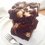 Our 5x Chocolate Brownie (because there are at least 5 different chocolates in there)