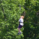 perfect for first time kid zip line! My son s' 10th birthday