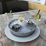 Oyster appetizer
