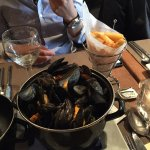 Mussels and Belgian fries
