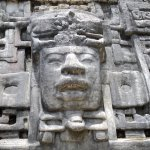 Close up of the Mask temple.