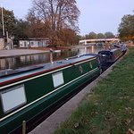 The River Cam house boats
