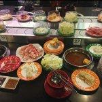 Belt of food