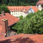 Monastery rooftops