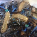 Posto Biscotti made into individual bags by Kortnee