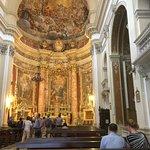Interior of the Church of St Ignatius of Loyola