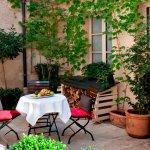 Café Laurent Paris - petit patio