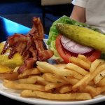 Side bar bacon burger