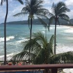 View from our Premier room (opt for room 321-323 for best views)
