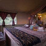 Classic tents double kilima camp Masai mara