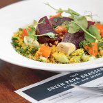 Green Park Brasserie, Beetroot & Couscous Salad with Sheep's Cheese