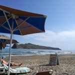 Photo de Agia Marina Beach