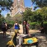 Sagrada Familia Vespa Tour Barcelona