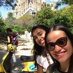 Sagrada Familia Vespa Tour