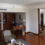 royal suite, photo facing bedroom