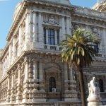 the Palazzo di Giustizia