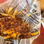 Yummy Fries + Bacon & Cheese!