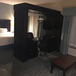 Very nice room - King bed suite with pullout. My only complaint was the feminine hygiene product