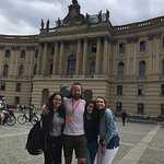 Our first introduction to Berlin was incredible thanks to our brilliant guide Sam.He was funny a