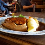 Steak and Conwy Ale Pie - very filling