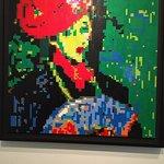 Portrait - Lego Display