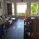 Lounge on upper floor
