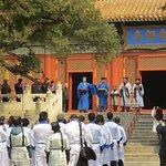 Graduation ceremony at the Confucius Temple, Beijing