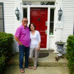 Jim and Karen, innkeepers at Lovett's Inn Franconia NH
