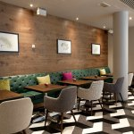 Thursday free wine when buy 2 steaks at Recess located Hilton Garden Inn Brindleyplace Birmingha