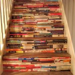Stairs made of books